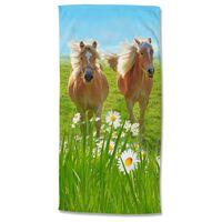 Good Morning Badlakan HORSES 75x150 cm flerfärgat