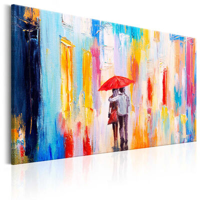 Tavla - Under The Love Umbrella - 120x80 Cm