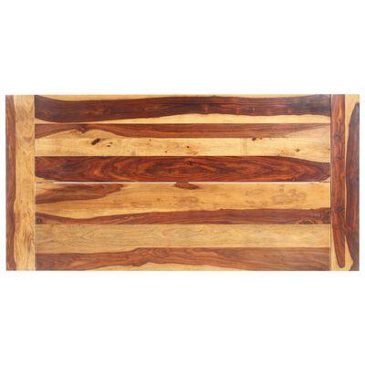 vidaXL Matbord 180x90x76 cm massivt sheshamträ