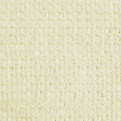 vidaXL Solsegel 160 g/m² gräddvit 2,5x4 m HDPE