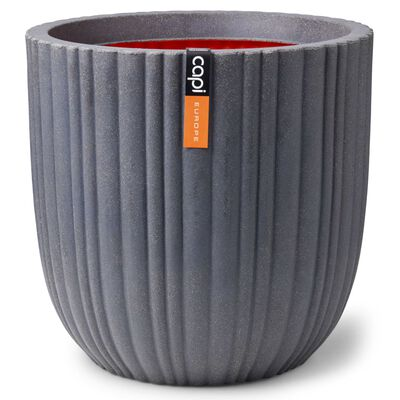 Capi Blomkruka Urban Tube 35x34 cm mörkgrå