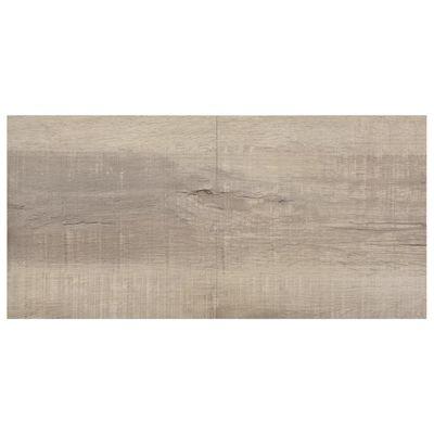 vidaXL Självhäftande golvplankor 20 st PVC 1,86 m² taupe