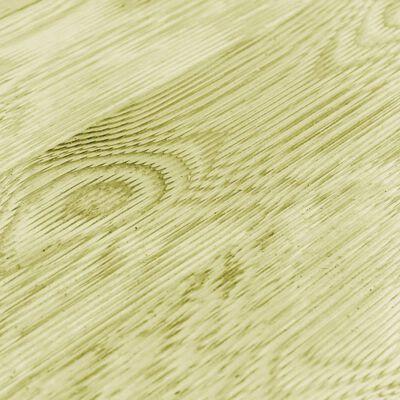 vidaXL Altantrall 42 st 150x14,5 cm trä