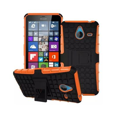 Stöttåligt skal med ställ Microsoft Lumia 640XL (RM-1062) Orange