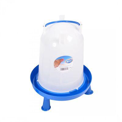 Duvo+ Vattenautomat till höns med handtag och dubbar 10 L