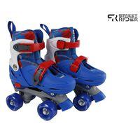 Street Rider Rullskridskor justerbara stl 27-30 blå