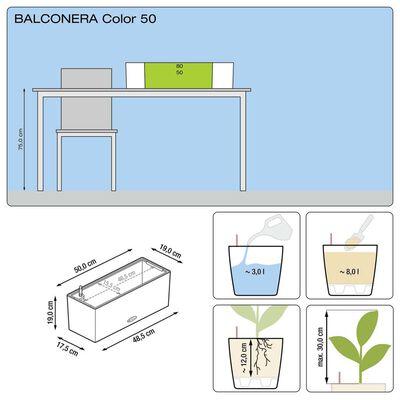 LECHUZA Odlingsenhet Balconera Color 50 ALL-IN-ONE vit 15670