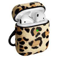 Airpods fodral - stöttåligt skydd - leopardmönster