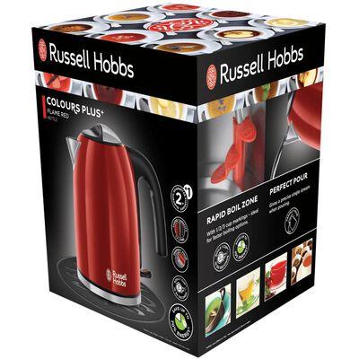 Russell Hobbs Vattenkokare Colors Plus flamröd 2400 W 1,7 L