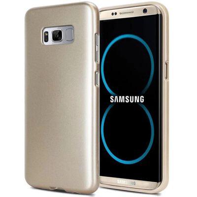 Mercury i Jelly Metal skal Samsung Galaxy S8 Plus (SM-G955F) Guld