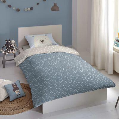 Good Morning Bäddset för barn BEAR 135x200 cm flerfärgat