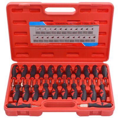 vidaXL Upplåsningsverktyg 23 delar