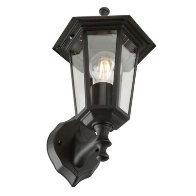 Ranex Vägglykta 60 W svart CLAS5000.030
