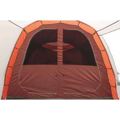 Easy Camp Tält Huntsville 400 4-pers röd och gräddvit