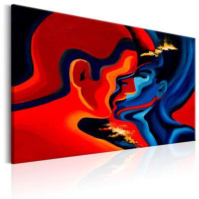Tavla - Cosmic Kiss - 120x80 Cm