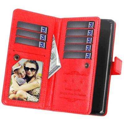 Dubbelflip Flexi 9-kort Huawei Mate 20 Lite (SNE-LX1) Röd