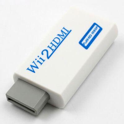 Nintendo Wii HDMI adapter - full HD 1080P