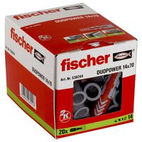 Fischer Pluggsats DUOPOWER 14 x 70 S 20 st