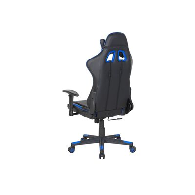 Kontorsstol svart/mörkblå RACER,