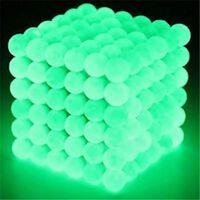 Magnetiska bollar att bygga och lära med - Självlysande Gröna