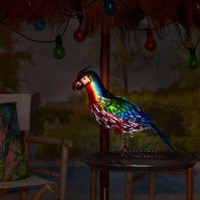 Luxform Solcellslampa för trädgård LED Parrot