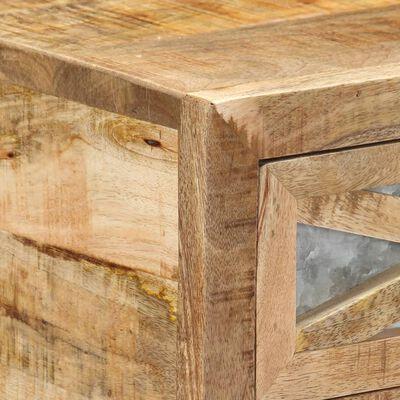 vidaXL Avlastningsbord 110x30x76 cm massivt mangoträ