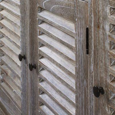 vidaXL Skänk massivt minditrä 145x32,5x77 cm