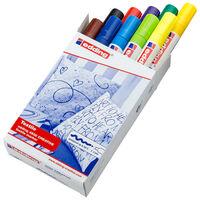 edding Textilpenna 10 st flerfärgad 4500