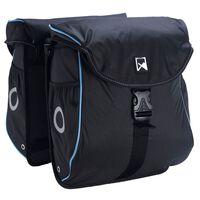 Willex Cykelväska 300 Flexi 24 L svart och blå