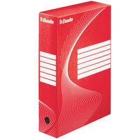 Esselte Dokumentbox 25 st röd 80 mm