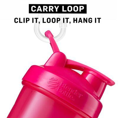 BlenderBottle Shakerflaska ProStak med 2 behållare 650 ml rosa