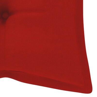 vidaXL Hammockdyna röd 120 cm tyg