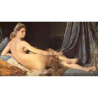 La Grande Odalisque,Jean Auguste Dominique Ingres,80x40cm