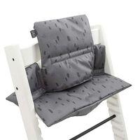 Jollein Barnstolsdyna för justerbar stol Spot stormgrå