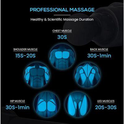 Massagepistol För Professionell Massage Svart