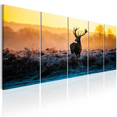 Tavla - Winter Afternoon - 200x80 Cm,