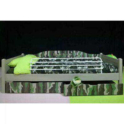 A3 Baby & Kids Justerbart sängskydd Trombone vit 64604
