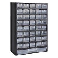 vidaXL Sortimentskåp med 41 lådor