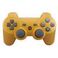 Handkontroll, Bluetooth Till Playstation 3 (guld)