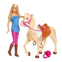 Barbie Docka och häst