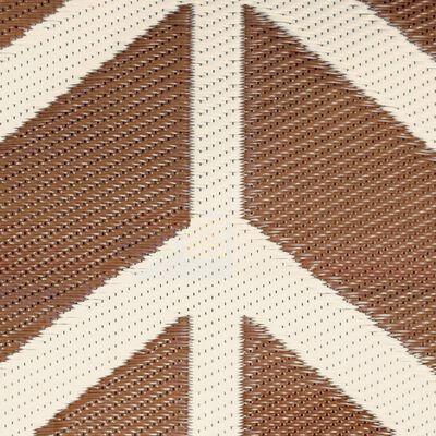 Bo-Camp Utomhusmatta Chill mat Flaxton 2x1,8 m lerfärgad