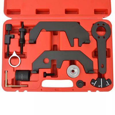 vidaXL Kamaxel-/Vevaxelinställningsverktyg 12 delar V8 V12 N62 N73