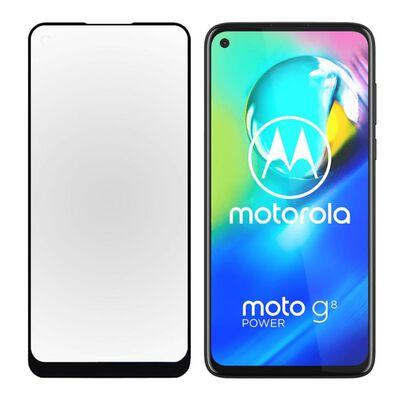 Motorola Moto G8 Power Härdat Glas Heltäckande Skärmskydd
