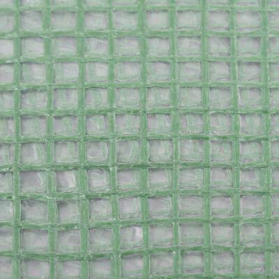 vidaXL Växthusöverdrag (8 m²) 400x200x200 cm grön