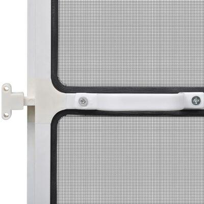 vidaXL Insektsnät med gångjärn för dörrar 100 x 215 cm