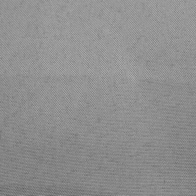 vidaXL Hörnsoffa med gråa dynor massiv furu