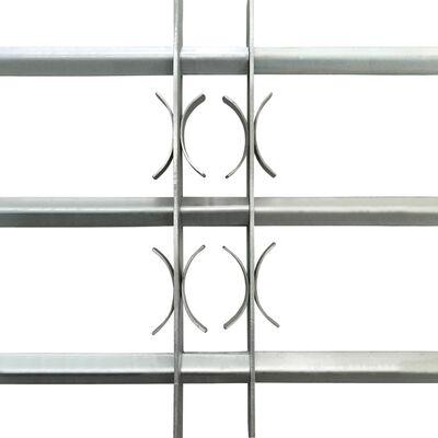 Justerbart Fönstergaller för fönster med 3 stänger 1000-1500 mm