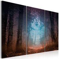 Tavla - Edge Of The Forest - Triptych - 90x60 Cm