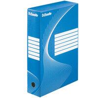 Esselte Dokumentbox 25 st blå 80 mm