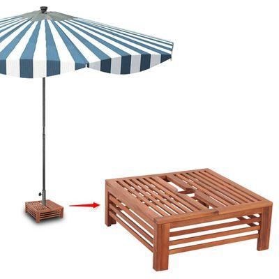 Träskydd för parasollfot,